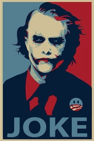 Vote For Joker IPhone Wallpaper