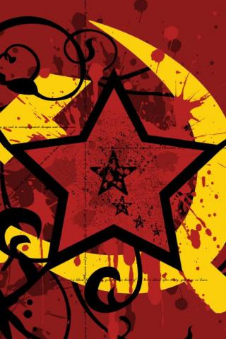 Soviet Red Star iPhone Wallpaper
