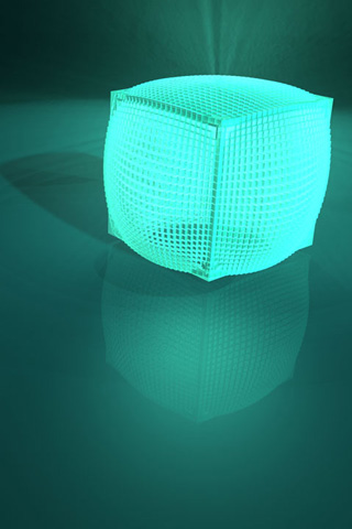 Meshed Box iPhone Wallpaper