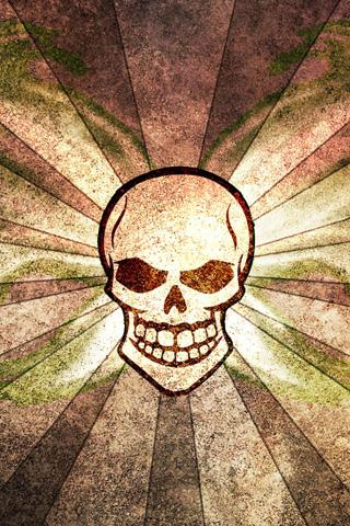 Skull Flag iPhone Wallpaper