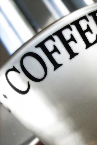 Coffee Mug iPhone Wallpaper