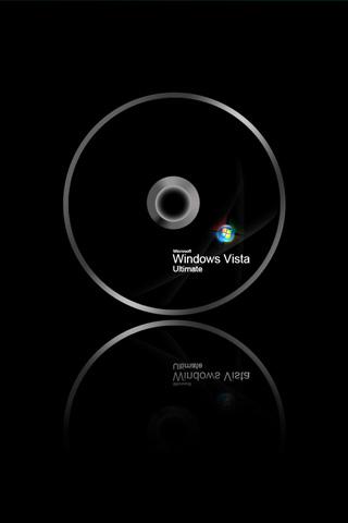 Microsoft Windows Vista Ultimate IPhone Wallpaper