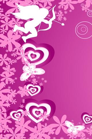 Cupid iPhone Wallpaper