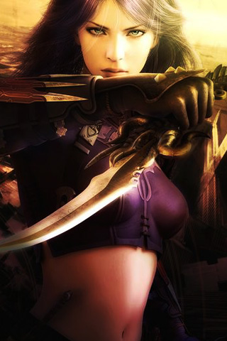 Guild Wars Factions - Ranger iPhone Wallpaper