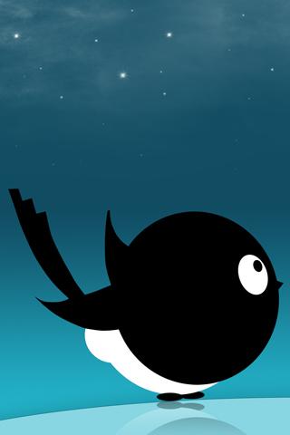 Black Bird iPhone Wallpaper