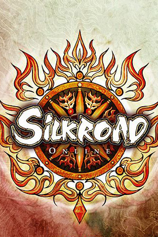 Silkroad Online Logo iPhone Wallpaper
