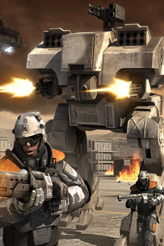 Battlefield 2142 iPhone Wallpaper