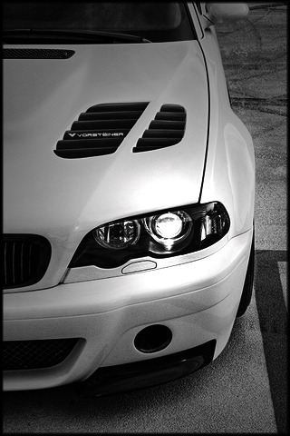 BMW Vorsteiner M3 iPhone Wallpaper
