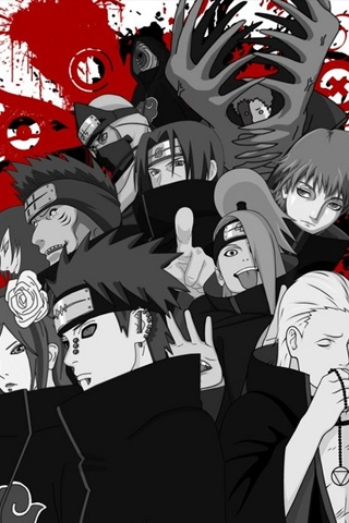Naruto Akatsuki Iphone Wallpaper Idesign Iphone