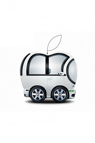 Apple Car iPhone Wallpaper