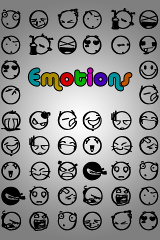 Emotions iPhone Wallpaper