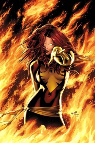 X-Men - Dark Phoenix iPhone Wallpaper