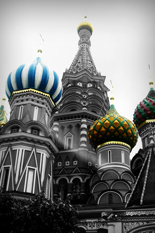 St Basil's Cathedral - Moscow iPhone Wallpaper