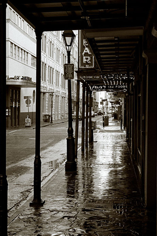 New Orleans Streets iPhone Wallpaper