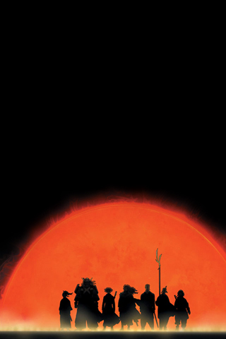 Samurai 7 iPhone Wallpaper