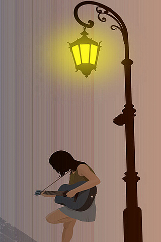 Night Serenade iPhone Wallpaper