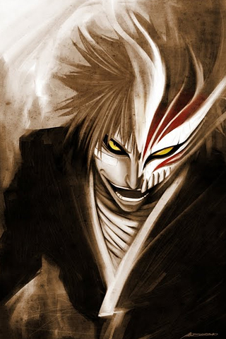 hollow ichigo wallpaper. Hollow Ichigo iPhone Wallpaper