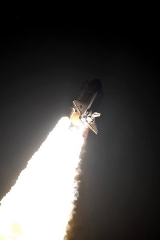 Space Launch iPhone Wallpaper