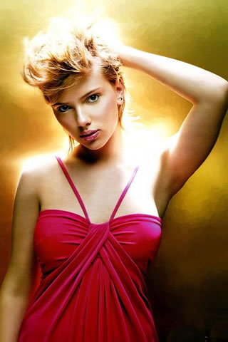 Scarlett Johannson iPhone Wallpaper
