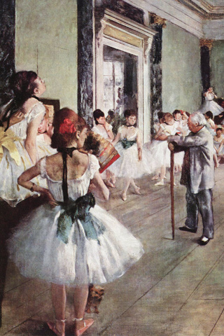 Ballet Dancers Edgar Degas IPhone Wallpaper