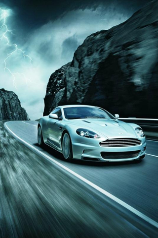 Aston Martin DBS iPhone Wallpaper