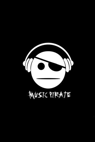 Music Pirate iPhone Wallpaper