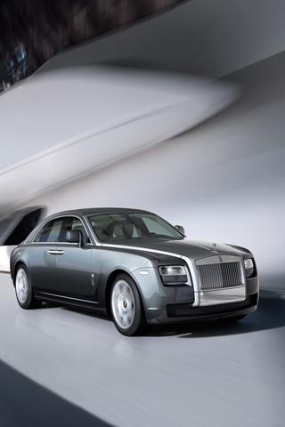 Rolls Royce Ghost 2010 iPhone Wallpaper