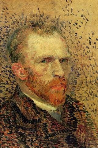 Self Portrait - Vincent Van Gogh iPhone Wallpaper