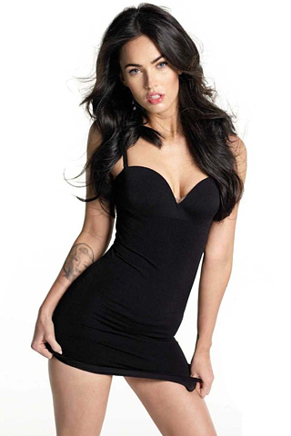 Megan Fox Black Dress iPhone Wallpaper