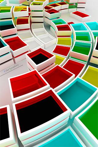 Color Symphony iPhone Wallpaper