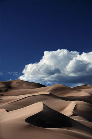 Sand Dunes iPhone Wallpaper