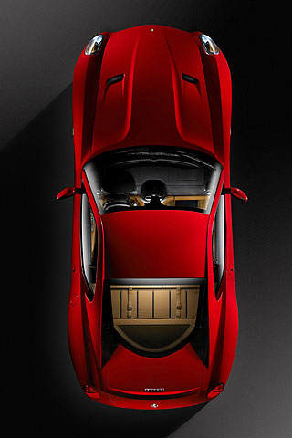 Ferrari 599 GTB Fiorano iPhone Wallpaper
