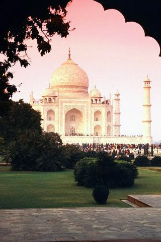 Taj Mahal iPhone Wallpaper