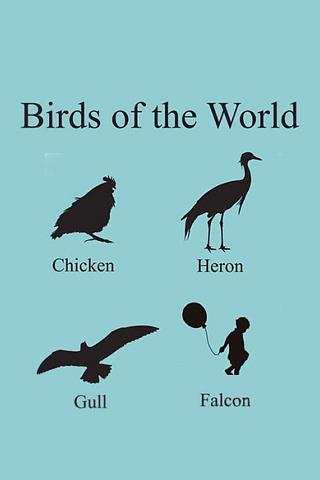 Birds of the World iPhone Wallpaper