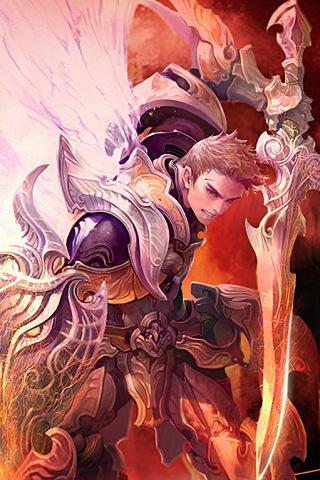 Warrior iPhone Wallpaper