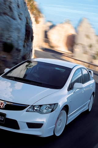 Honda Civic Type R iPhone Wallpaper