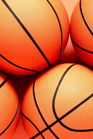 Basketballs iPhone Wallpaper