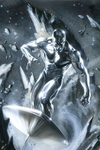 Silver Surfer IPhone Wallpaper