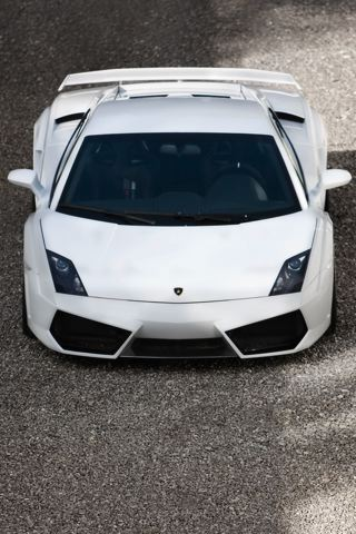 Lamborghini Gallardo LP560 iPhone Wallpaper
