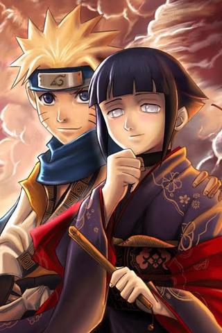 Naruto and Hinata iPhone Wallpaper