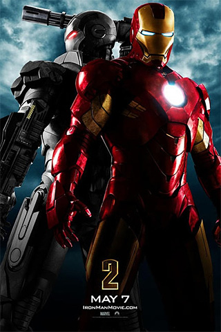 Iron Man 2 iPhone Wallpaper
