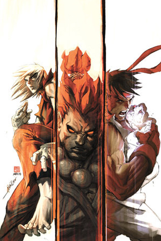 Street Fighter Combination iPhone Wallpaper
