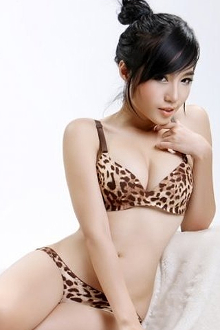 Elly Tran Ha - Cougar iPhone Wallpaper