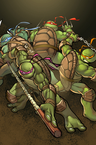 Teenage Mutant Ninja Turtles iPhone Wallpaper