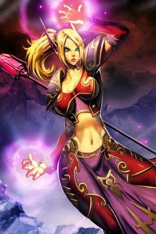 World of Warcraft Artwork iPhone Wallpaper