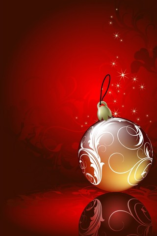 Christmas Decoration iPhone Wallpaper