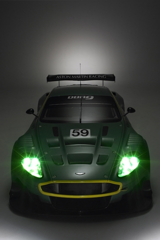 Aston Martin DB9 iPhone Wallpaper