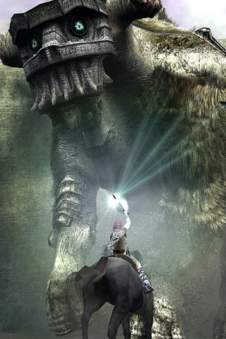Shadow of the Colossus iPhone Wallpaper