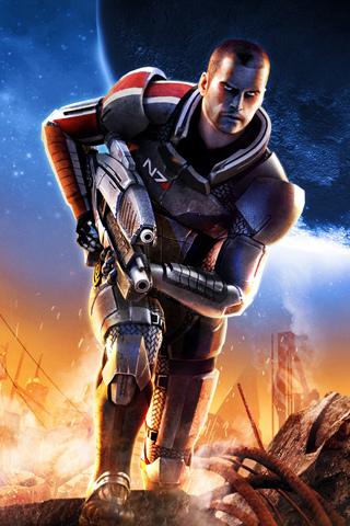 Mass Effect 2 iPhone Wallpaper