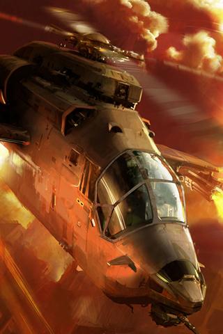 Fireblade iPhone Wallpaper
